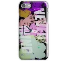 Never Mind BTS iPhone Case/Skin