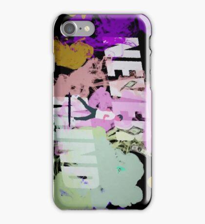 Never Mind BTS iPhone Case/Skin