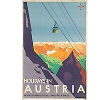 Vintage poster - Austria Photographic Print