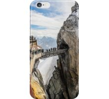 Passage between mountains iPhone Case/Skin