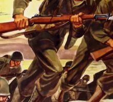 Buy War Bonds -- WW2 Propaganda Sticker