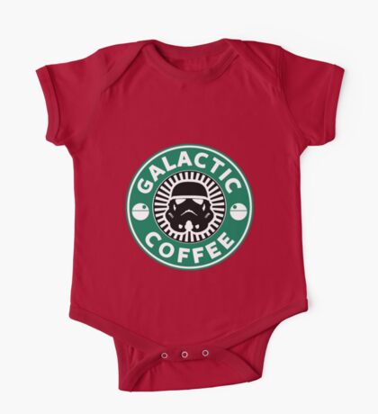 I like my coffee dark. One Piece - Short Sleeve
