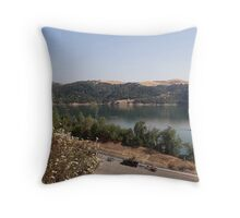 The Boat Ramp Throw Pillow