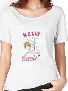 Balloon Kelly Montoya t-shirt Women's Relaxed Fit T-Shirt