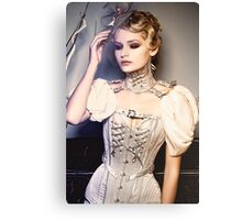 Bibian Blue - Lovelace Boudoir Canvas Print