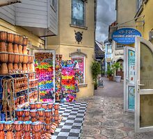 Commercial Alley in Nassau, The Bahamas by Jeremy Lavender Photography