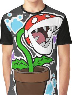 Mario Plant Graphic T-Shirt