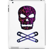 pink punk skull iPad Case/Skin