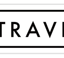 Hashtag Travel Sticker