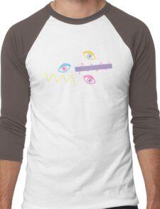 Pink Teichopsia Men's Baseball ¾ T-Shirt