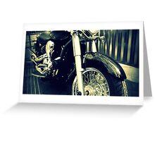 Black Rider Greeting Card
