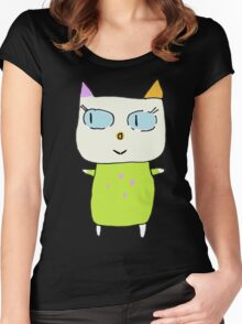 Alex the Cat Women's Fitted Scoop T-Shirt