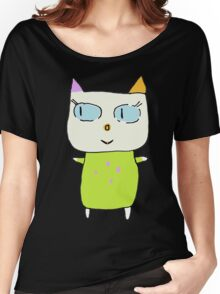 Alex the Cat Women's Relaxed Fit T-Shirt
