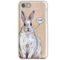 Snow bunny 2 iPhone Case/Skin