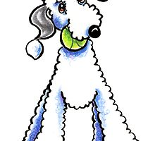 Bedlington Terrier Let's Play by offleashart