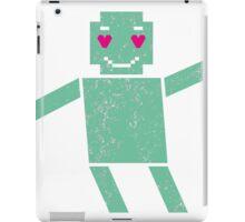Robot in love iPad Case/Skin