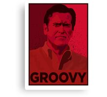 ASH WILLIAMS GROOVY (Ash vs Evil Dead) Canvas Print