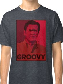 ASH WILLIAMS GROOVY (Ash vs Evil Dead) Classic T-Shirt