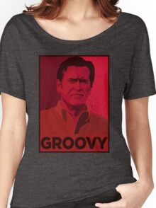 ASH WILLIAMS GROOVY (Ash vs Evil Dead) Women's Relaxed Fit T-Shirt