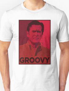 ASH WILLIAMS GROOVY (Ash vs Evil Dead) Unisex T-Shirt