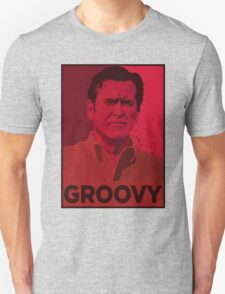ASH WILLIAMS GROOVY (Ash vs Evil Dead) T-Shirt
