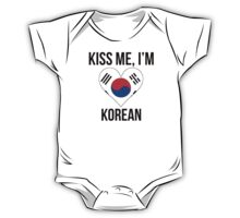 Kiss Me I'm Korean One Piece - Short Sleeve