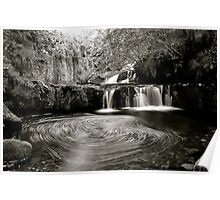 Garell Glen Waterfall Poster
