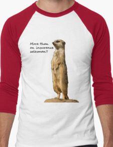 More than an insurance salesman Men's Baseball ¾ T-Shirt