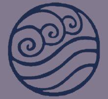 Water Tribe Symbol Kids Tee