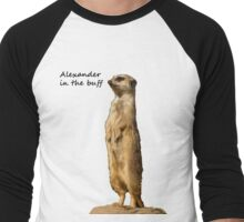 Alexander in the buff Men's Baseball ¾ T-Shirt