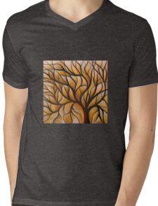 Autumn Tree of Life Mens V-Neck T-Shirt