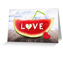 from Summer with LOVE Greeting Card