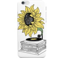 Singing in the sun iPhone Case/Skin