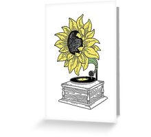 Singing in the sun Greeting Card
