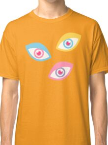 Black Teichopsia Eyes Classic T-Shirt