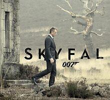 Skyfall 007 by jaffrywardjr