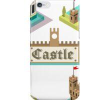Medieval Castle Tiles iPhone Case/Skin