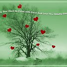 Peace and Love Christmas Card by CarolM