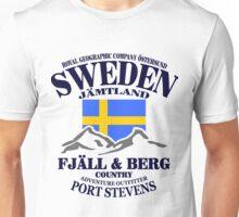 Sweden - Fjäll & Berg Unisex T-Shirt