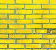 Yellow bricks Sticker