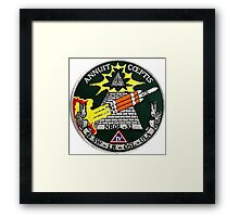NROL 32 Launch Team Logo Framed Print