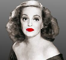 Bette Davis by Abella Joaquin