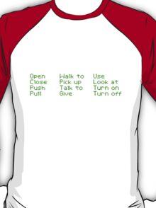Monkey Island Pixel Style- Retro DOS game fan shirt T-Shirt