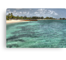 Junkanoo Beach in Nassau, The Bahamas Canvas Print