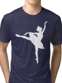 Ballerina (white) Tri-blend T-Shirt