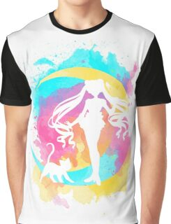 Happy Guardian Sailor Moon Graphic T-Shirt