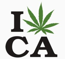 I Marijuana California by MarijuanaTshirt