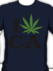 I Marijuana California T-Shirt