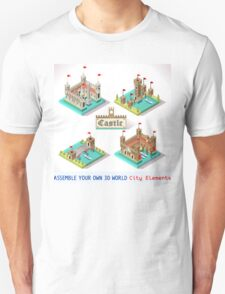 Medieval Castle Tiles T-Shirt