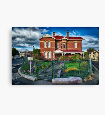 Home on the Bend Canvas Print